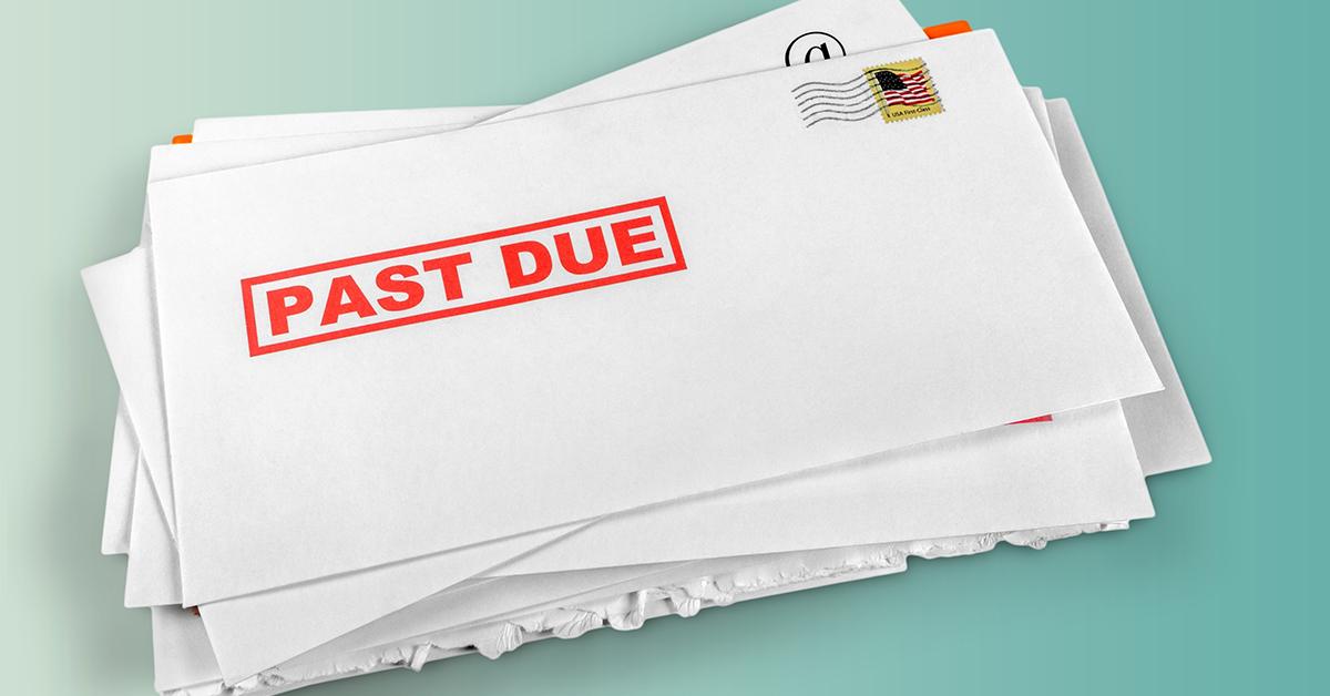 Past due bills debt