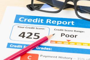 Poor Credit Bureau Report