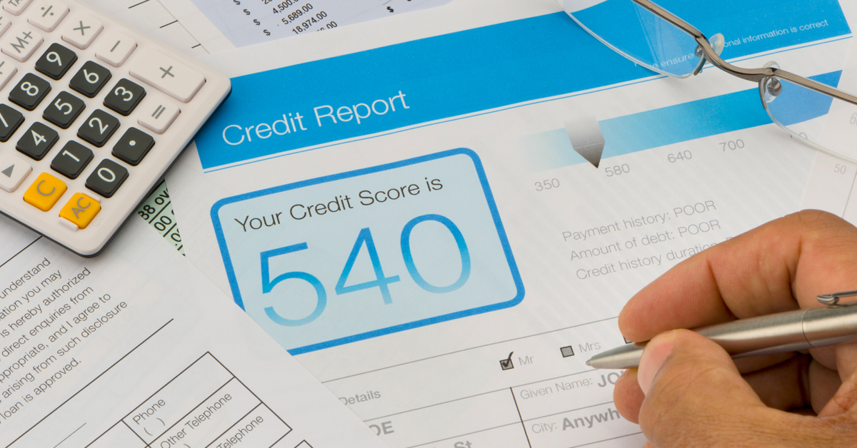 Low Credit Score from Car Repossession