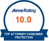 Avvo Rating: 10.0 | Top Attorney Consumer Protection